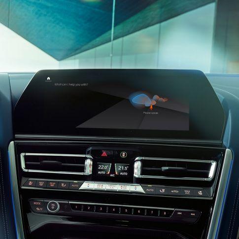 Nuova BMW Serie 8 Gran Coupé, BMW Intelligent Personal Assistant