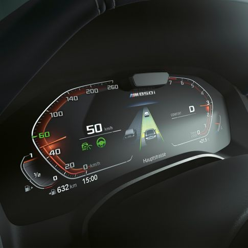 Nuova BMW Serie 8 Gran Coupé, BMW Driving Assistant Professional