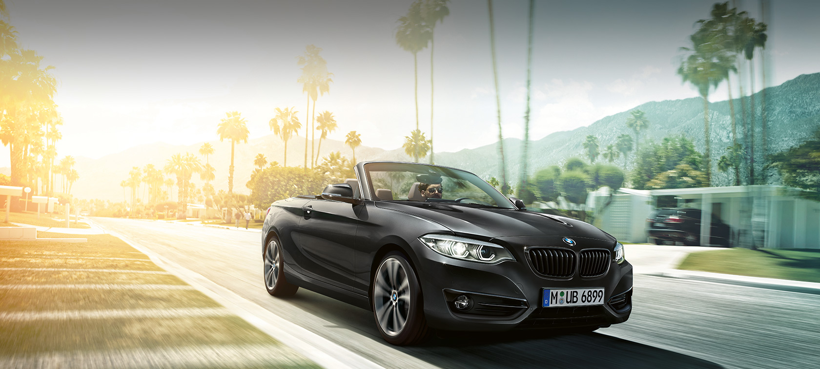 BMW Serie 2 Cabrio, ripresa in movimento F23