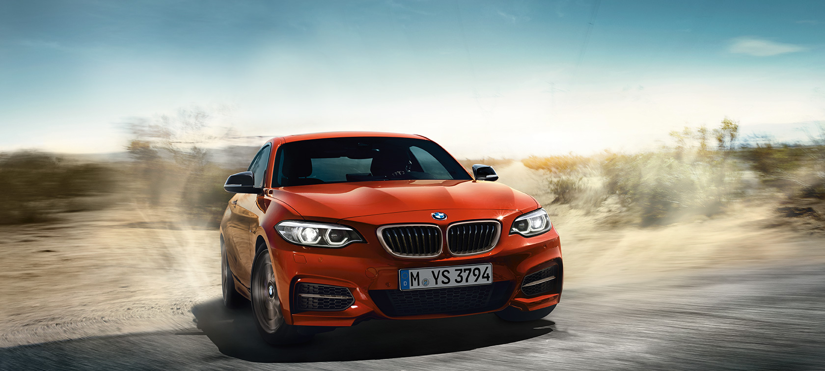 BMW Serie 2 Coupé, ripresa dinamica in movimento F22
