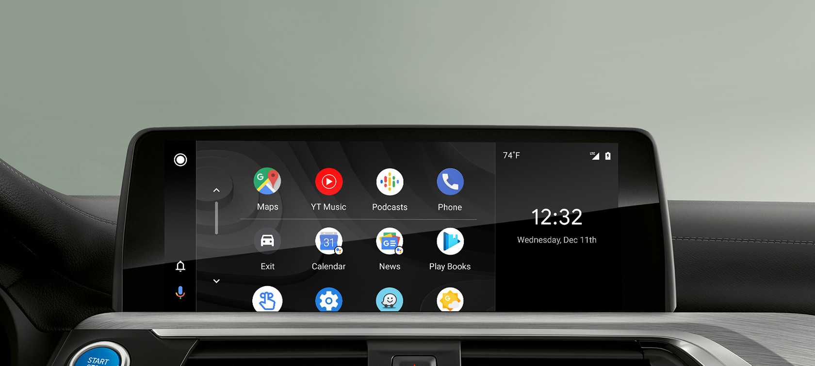 Android Auto Smartphone Integration nel Control Display di BMW ConnectedDrive