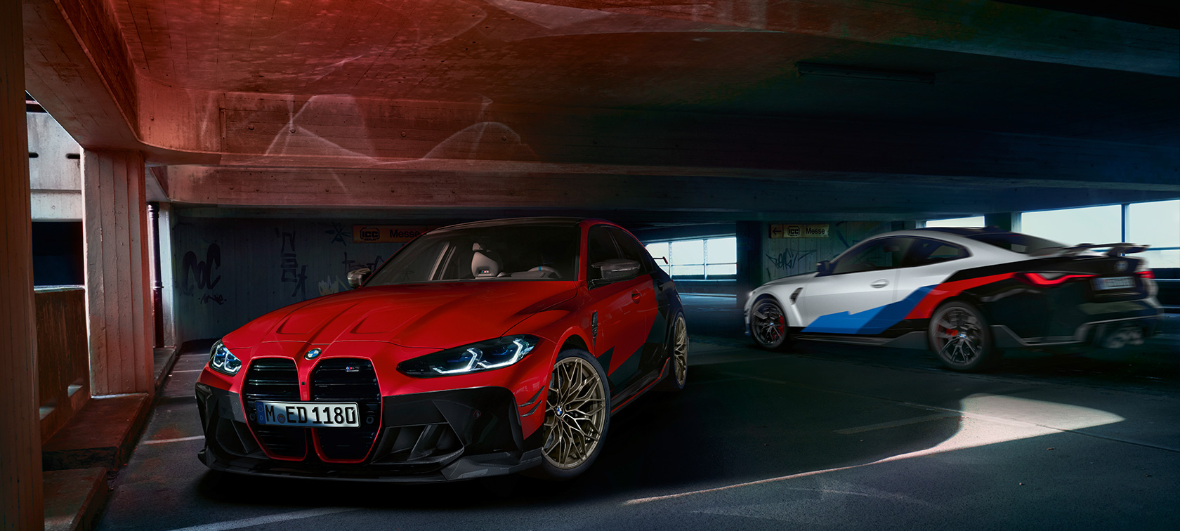 BMW M3 M4 G80 G82 Accessori BMW M Performance Design degli esterni
