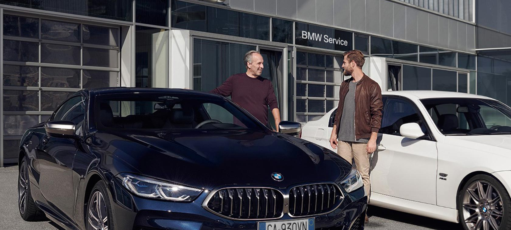 BMW aftersales service update