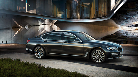 BMW Serie 7 lusso